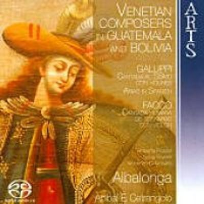 Photo of Venetian Composers in Guatemala and Bolivia [sacd/cd Hybrid]