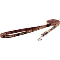 rogz fancy dress fixed dog lead mocha bone design collars leash