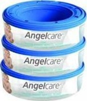 angelcare nappy bin refill 3 pack bag