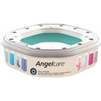angelcare dress up nappy bin refill octagon bag