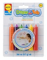 alex toys draw in the tub crayons 6 arts craft