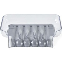 better living trickle tray soap dish grey bathroom accessory