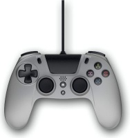 gioteck vx 4 wired controller for ps4 titanium