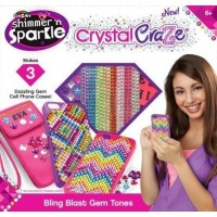 cra z art shimmer n sparkle crystal craze bling tones craft supply