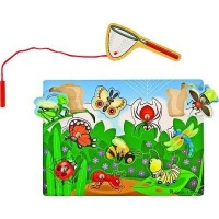 melissa and doug magnetic puzzle games bug catching vehicle