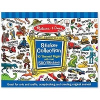 melissa and doug sticker collection blue craft supply