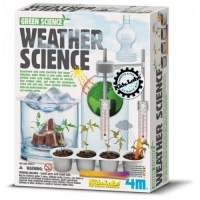 4m green science weather learning toy