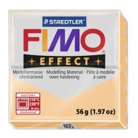 staedtler fimo effect modelling clay 57g block peach arts craft
