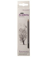 derwent academy sketching carton of 6 art supply