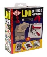 essdee lino cutting printmaking set 22 pieces gift set