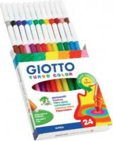 giotto turbo color felt tip pens 24 pack arts craft