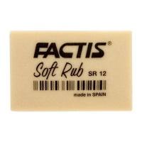 factis soft rub gum eraser off white art supply