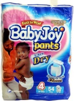 babyjoy pants size 4 9 14kg jumbo pack 54 nappies bag