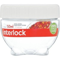 lock and interlock container 150ml white other kitchen appliance
