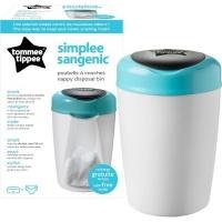 tommee tippee sangenic simplee tub blue bag