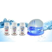 crystal aire led ionized air purifier with 3 pack health product