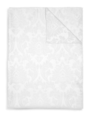 Photo of Lyric Jacquard Round Tablecloth