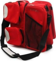 3 in 1 baby bag red baby toy