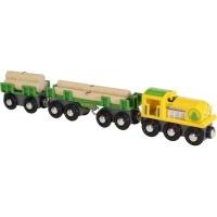 brio lumber train electronic toy