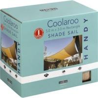 coolaroo handy shade sail 5x3m rectangle pools hot tubs sauna