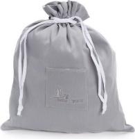 bebedeparis baby nursery bag 33x40cm grey bag