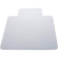 OfficeFX Rectangular Non Slip Carpet Protector Mat with Lip