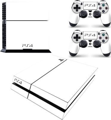 Photo of SKIN-NIT Decal Skin For PS4: White 2019