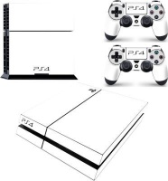 skin nit decal for ps4 white 2019 ps4 console