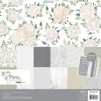 kaisercraft paper pack two souls 12 x12 sheets office machine