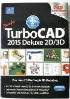 turbocad 2015 deluxe 2d3d software graphics publishing
