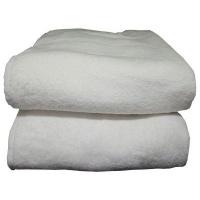 bunty surplus design 9 bath sheet 100x200cm 1100gms white bath towel