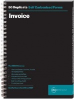 rbe a5 invoice duplicate spiral bound book of 3 other