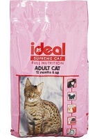 ideal supreme cat adult dry food 5kg feeding