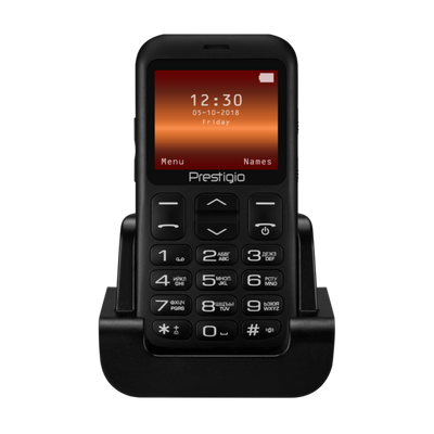 """Photo of Prestigio 2.2"""" 3G Feature Phone SOS Button and Docking Station"""