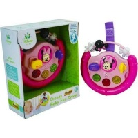 disney baby minnie mouse fun driver musical toy