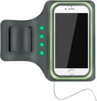 astrum ab470 led powered mobile sports armband greygreen gp