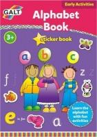 galt alphabet sticker activity book craft supply