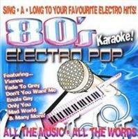 avid publications 80s electro pop karaoke cd karaoke