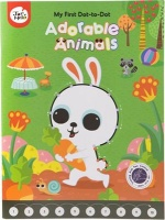jarmelo my first dot to drawing book adorable animals art supply