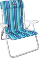 afritrail flamingo beach chair 120kg camping