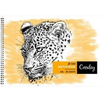 croxley jd543 a4 sketch book 40 leaves 10 other