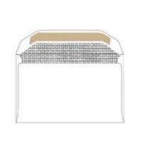 croxley 8 white gummed plain banker envelopes box of 500 school supply