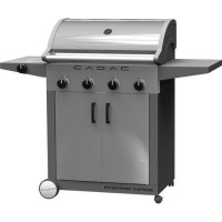 cadac entertainer supreme gas braai 4 burner patio braai