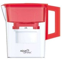 aqua optima water jug 21lt and 30 day filter compact red health product