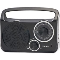 teac pr 300b amfm portable radio with aux in jack media player accessory