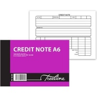 treeline duplicate pen carbon credit note book a6l of 10 other