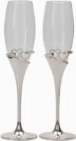 champagne flutes double hearts water coolers filter