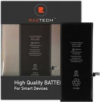 raz tech replacement battery for apple iphone 7g
