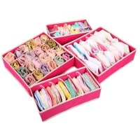 Underwear Storage Box Pink