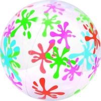 bestway designer beach ball multicolour 41cm pools hot tubs sauna